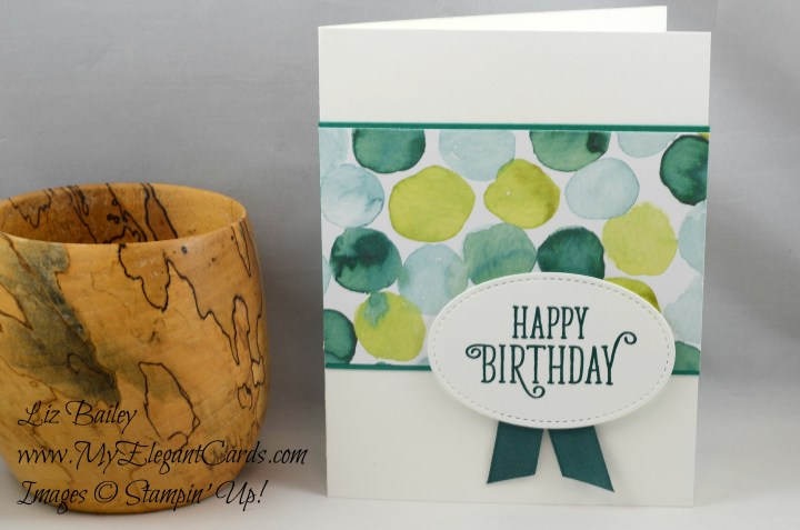 Liz Bailey Stampin' Up! Demonstrator - Naturally Eclectic DSP - Happy Birthday Gorgeous