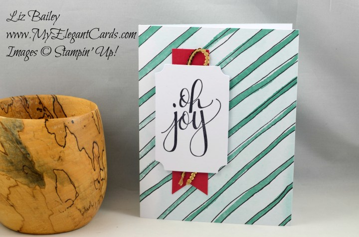Liz Bailey Stampin' Up! Demonstrator - Watercolor Christmas Project Kit