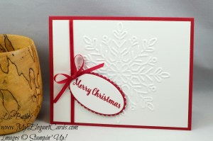 Liz Bailey Stampin' Up! Demonstrator - Winter Wonder TIEF - Star of Light - Layering Ovals Framelits Dies