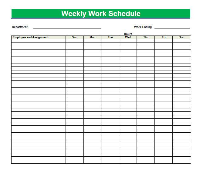 my weekly schedule template - Josemulinohouse - cute weekly homework planner template