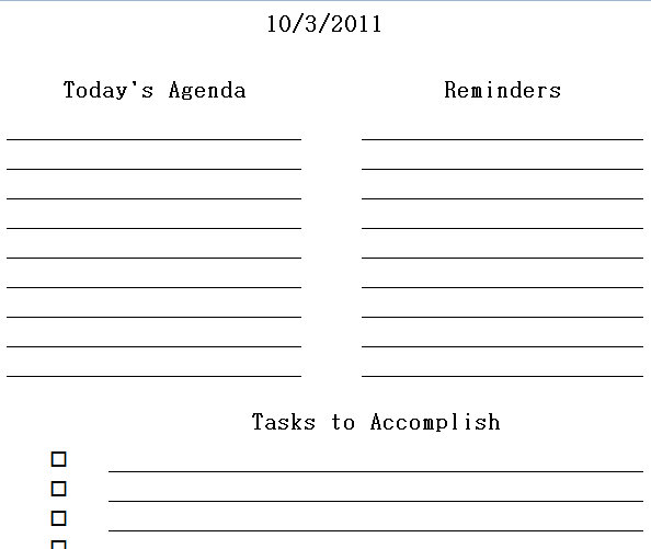 my daily schedule template - Romeolandinez - daily schedule template printable