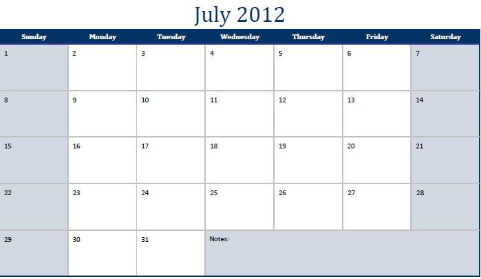 Ridgid Calendar 2011-12