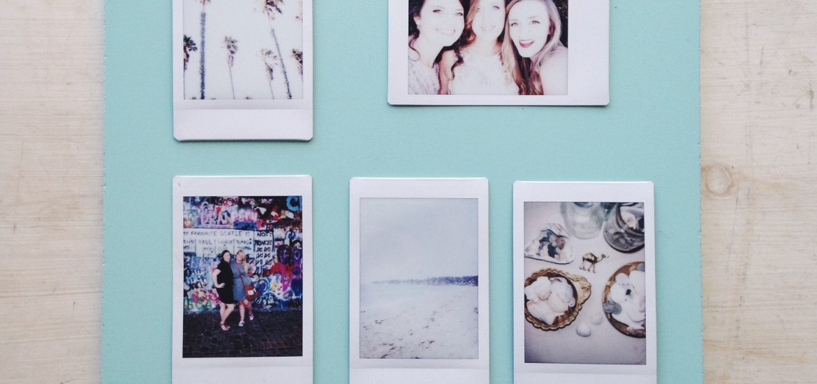 Three fun ways to display your Mini Polaroids.