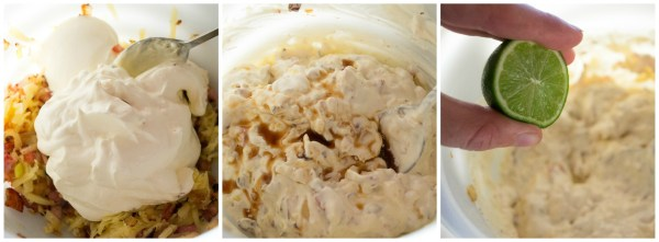 bacon cheese dip steps 2