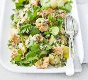 salmon and potatoe salad
