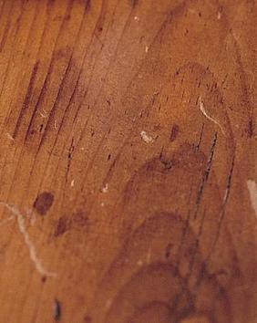 Fix scratches and nicks on wood
