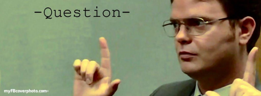 Serious Quotes Wallpapers Funny Dwight Schrute My Facebook Cover Photo Facebook