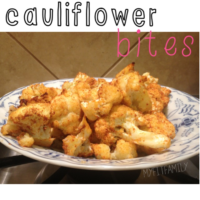 "Recipe: ""Spicy"" Cauliflower Bites"