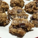 Recipe: 4 Ingredient Energy Bites
