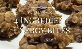 Recipe: 4 Ingredient Energy Bites