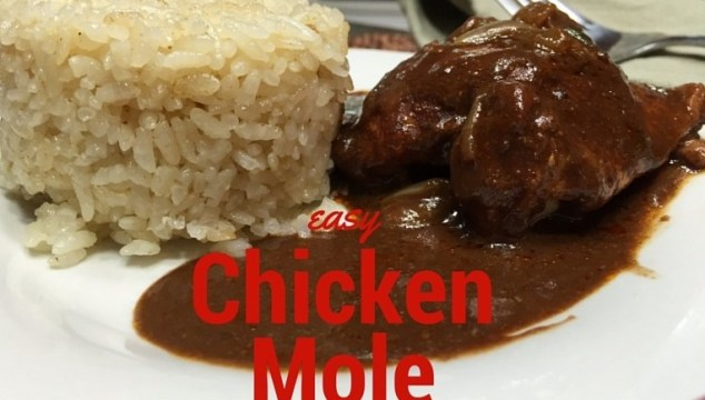 Easy Homemade Chicken Mole