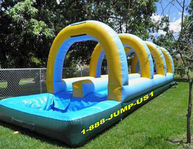 Double Slip And Slide My Florida Party Rental