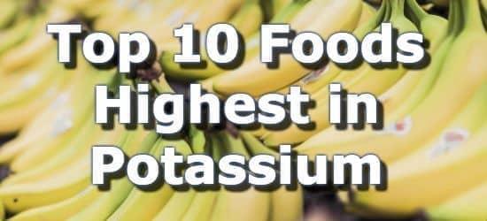 The 10 Best Foods High in Potassium