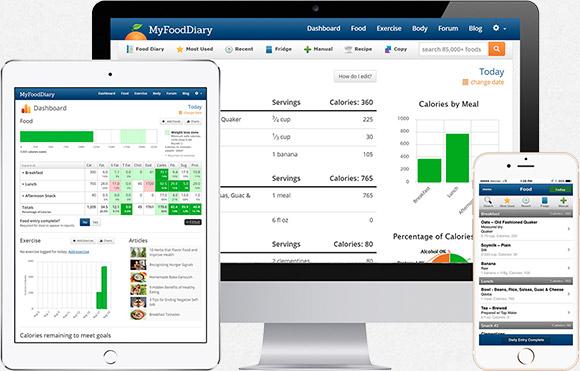 Online Food Online Food Log And Calorie Counter - online food log