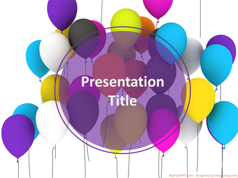 Free Birthday PowerPoint Templates - MyFreePPT