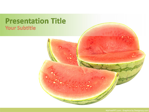 Free Nutrition PowerPoint Templates - MyFreePPT