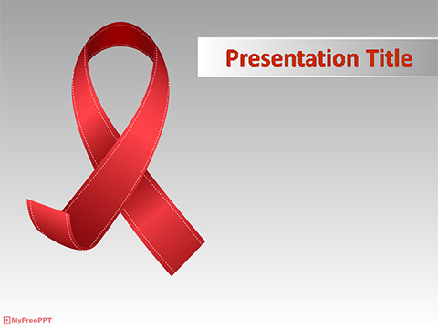 Free World Aids Day PowerPoint Templates - MyFreePPT