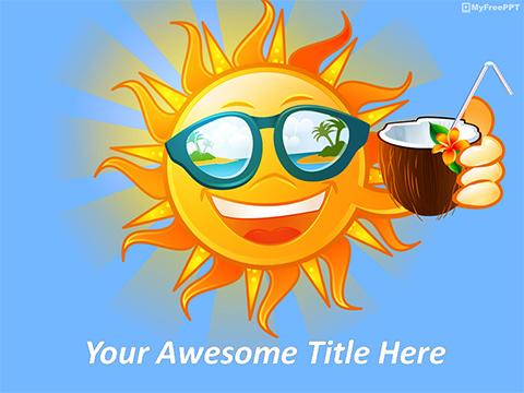Free cartoon PowerPoint Templates - MyFreePPT
