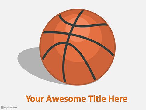 Basketball Powerpoint Template Sports - Basketball Powerpoint - basketball powerpoint template