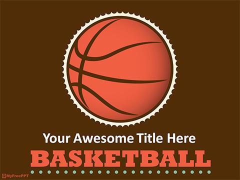 Free Champion PowerPoint Templates - MyFreePPT - basketball powerpoint template