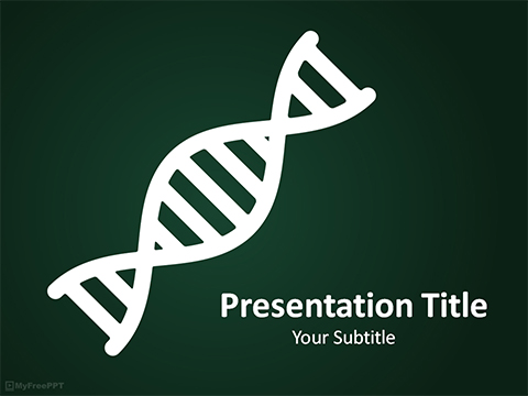Free DNA PowerPoint Template - Download Free PowerPoint PPT - science powerpoint template