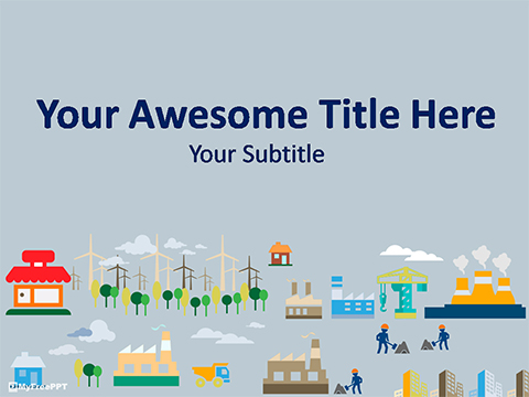 Free Environment PowerPoint Templates - MyFreePPT