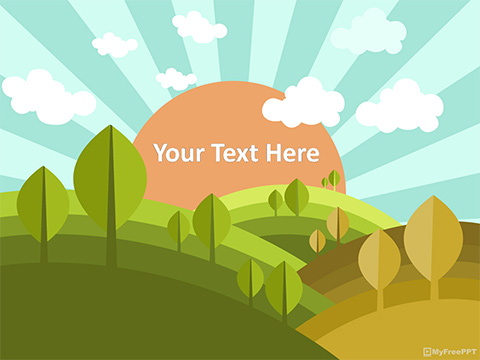 Free Nature PowerPoint Templates, Themes  PPT