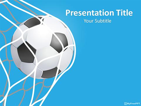 Free Match PowerPoint Templates - MyFreePPT - football powerpoint template
