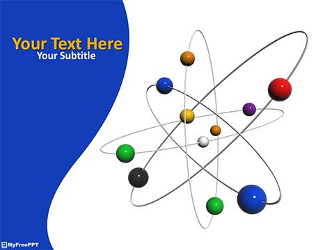 Free chemistry PowerPoint Templates - MyFreePPT
