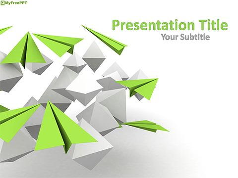 Free Airplane PowerPoint Templates - MyFreePPT