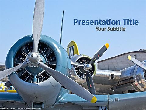 Free Flight PowerPoint Templates - MyFreePPT