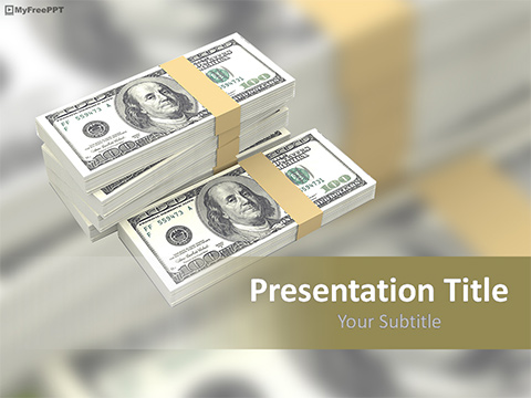 Free Money PowerPoint Templates, Themes  PPT - money template
