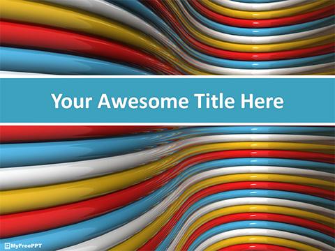Free Rainbow PowerPoint Templates - MyFreePPT - rainbow powerpoint