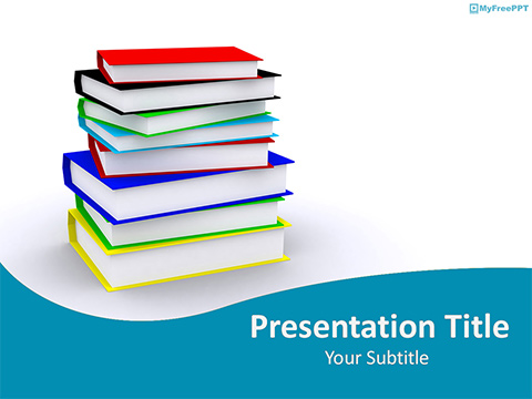 Free Library PowerPoint Templates - MyFreePPT - Powerpoint Books