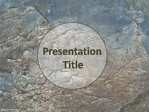 Free Rock PowerPoint Templates - MyFreePPT - memorial powerpoint templates free