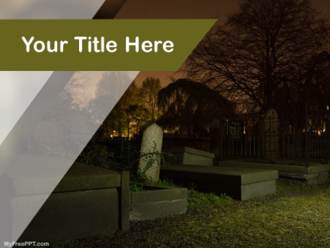Free funeral PowerPoint Templates - MyFreePPT