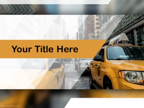 Free Traffic PowerPoint Templates - MyFreePPT