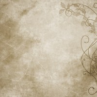 old paper floral parchment background