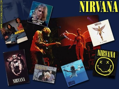 My Free Wallpapers - Music Wallpaper : Nirvana - Collage