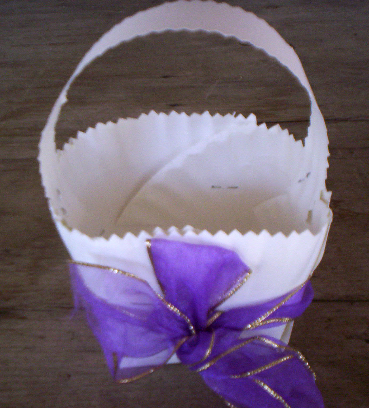 Paper plate baskets castrophotos saveenlarge paper plate easter basket mightylinksfo
