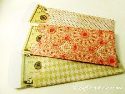 Printable Money Envelope Templates - money envelope template
