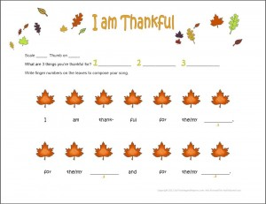 I Am Thankful Piano Composition For Preschoolers My Fun