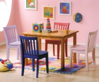 NEWPORT 5 PIECE YOUTH TABLE AND CHAIRS PLAY SET