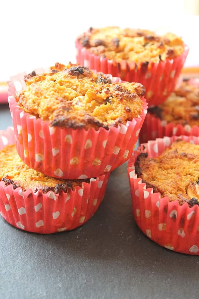 Sweet Potato and Carrot Muffins