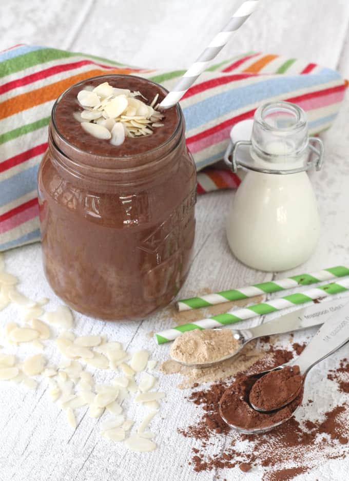 maca powder smoothie