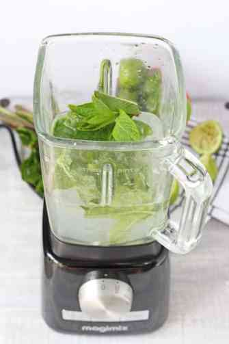 Whip up a Mojito cocktail in just 2 minutes in a blender | My Fussy Eater Blog