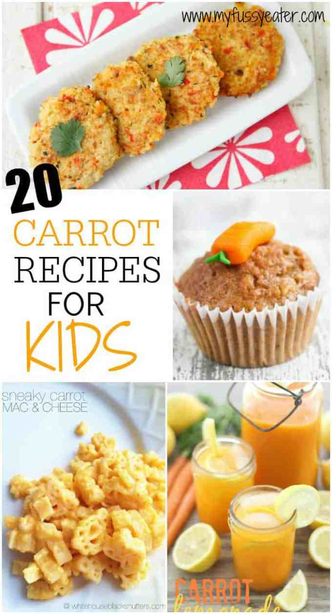 20 Carrot Recipes for Kids | My Fussy Eater blog