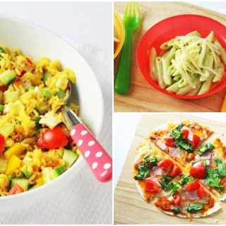 Three quick and easy family dinners that take just 10 minutes of less to prepare and cook! | My Fussy Eater blog