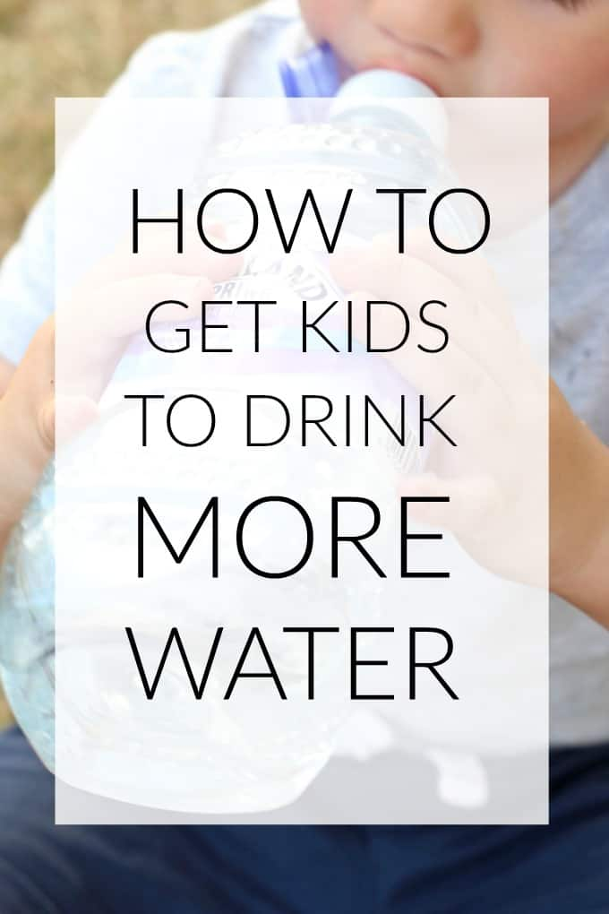 Keeping kids hydrated can be hard work but here's my tips on how you can get them to drink more water throughout the day!
