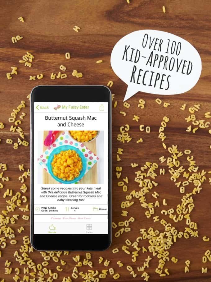 APP - My Fussy Eater Healthy Kids Recipes